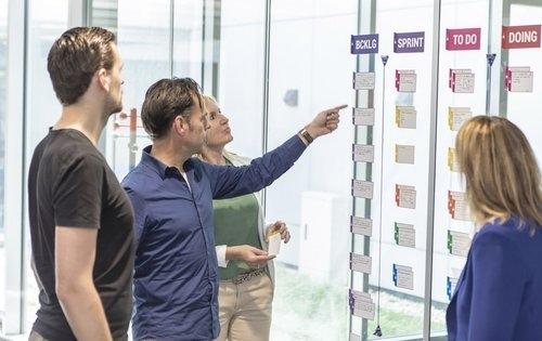 Simelius kan ondersteuning bieden bij het transformeren naar een Lean of agile organisatie